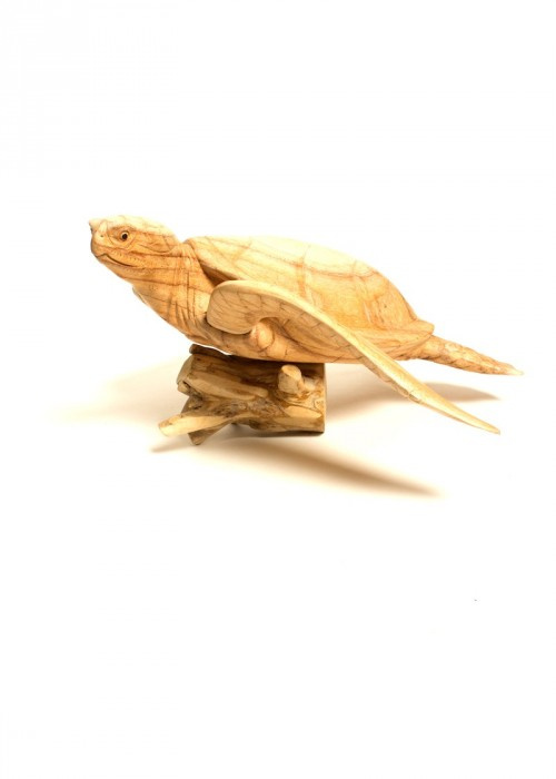 PALAUAN TURTLE (LARGE WOOD STRUCTURE/STATUE)